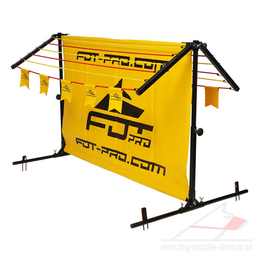Long Jumps Dog Training Barrier with Removable Frame