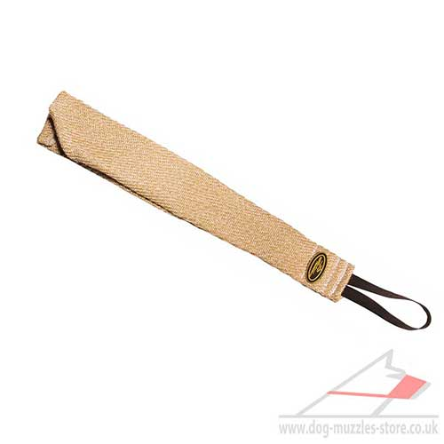 Dog Training Bite Rag for Prey Drive | Jute Bite Tug for Dogs