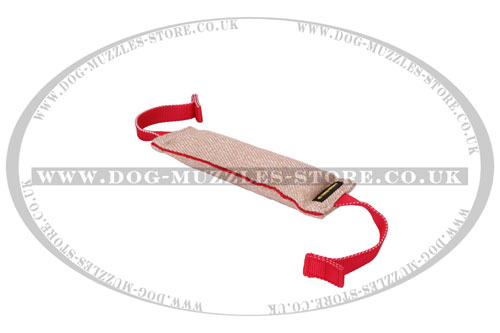 Training Jute Dog Tug Toy for Young and Adult Dogs
