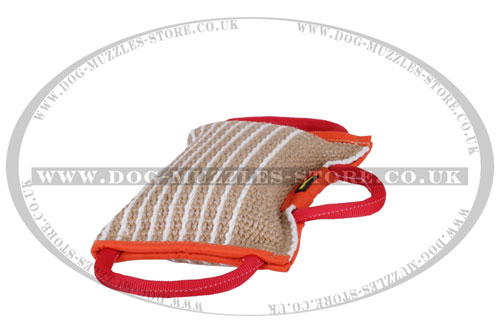 Professional Training Dog Bite Pillow Jute 5.5 inch