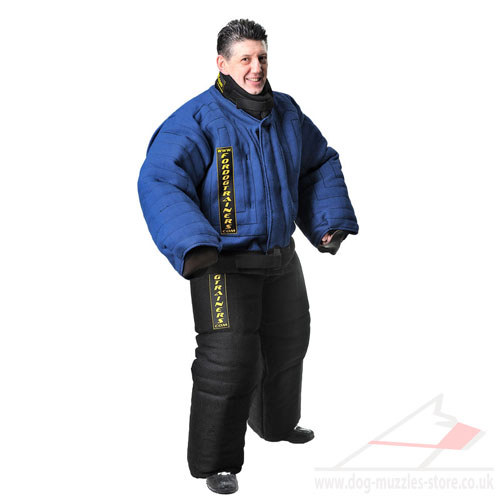 Elaborated Full Body Dog Bite Suit for Safe Training