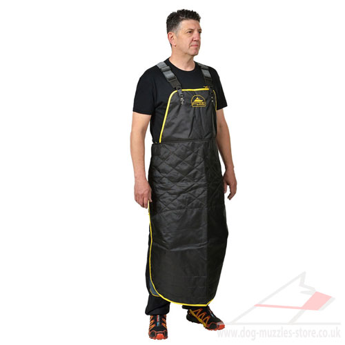Adjustable Dog Trainer Apron with Wide Back Straps