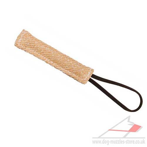 Small Puppy Tug Toy | Puppy Jute Toy 8""
