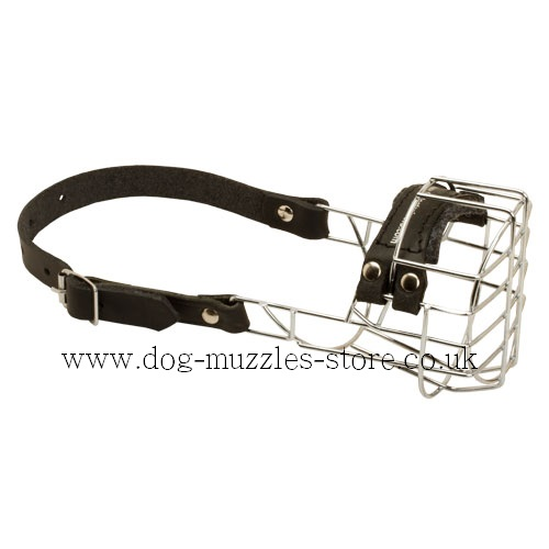 Small Dog Muzzles UK Super Design for Spitz, Cocker-Spaniel etc