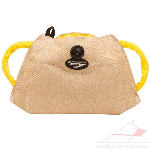 Soft Jute Cushion with Handles for Puppy and Young Dog Training