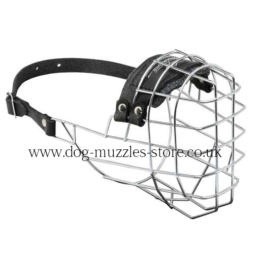 Dog Muzzle for German Shepherd for Sale, Medium Size