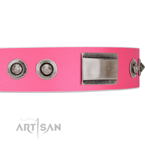 luxury dog collar for lady dogs by FDT Artisan