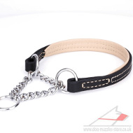 Best Half-Choke Dog Collar 'Maximum Comfort' 4/5 inch (25 mm)