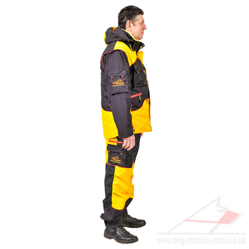 dog bite training suit online