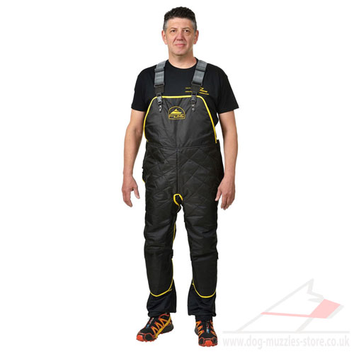 Comfy Dog Training Apron-Jumpsuit for Mobile Training