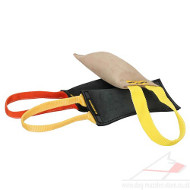 Dog Bite Training Tools | Dog Bite Pad with Handle, Leather