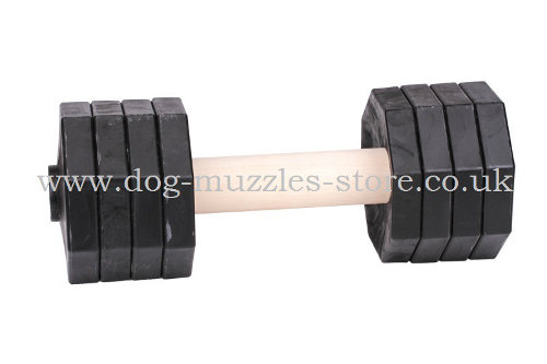 Wooden Dumbbell for Dogs Training