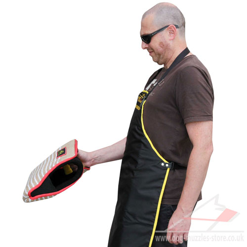 bite dog sleeve with handles