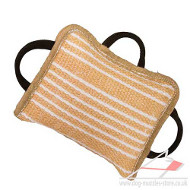 Strong Dog Training Bite Pad | Dog Training Equipment Jute
