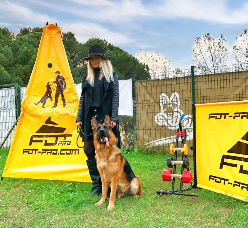 Eco Safe Schutzhund Dumbbell For Retrieve Skills Developing