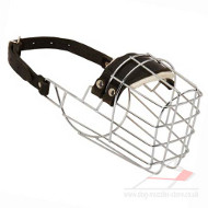 Wire Basket Muzzle | Wire Dog Muzzle That Allows Drinking